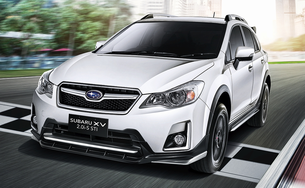 subaru xv sti introduced in malaysia rm123k. Black Bedroom Furniture Sets. Home Design Ideas