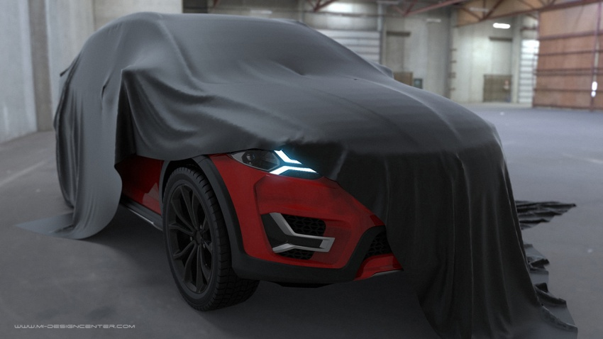 Proton Suprima X – SUV-style hatch design by MIMOS Image #649928