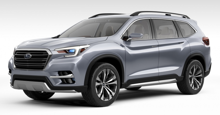 Subaru Ascent Concept previews new three-row SUV Image #644589