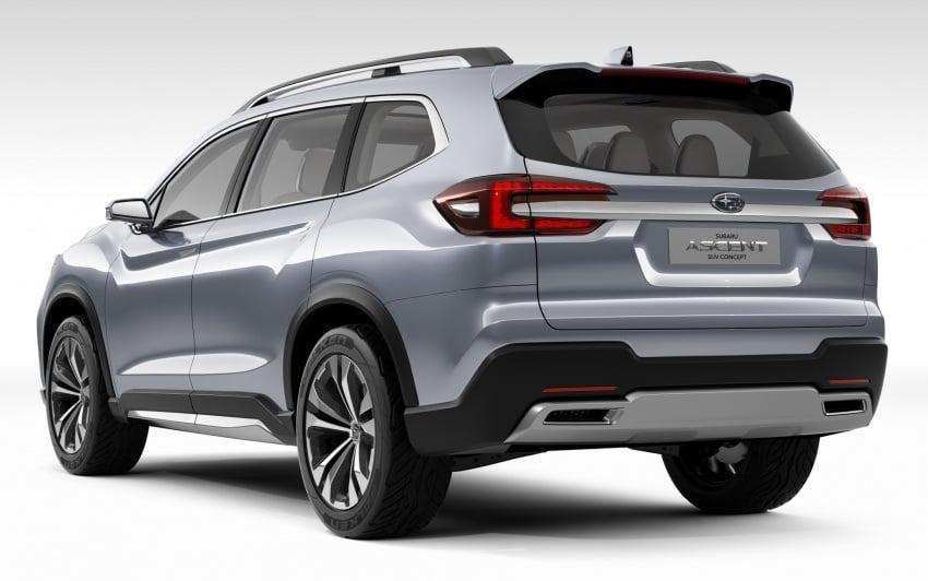 Subaru Ascent Concept previews new three-row SUV Image #644590
