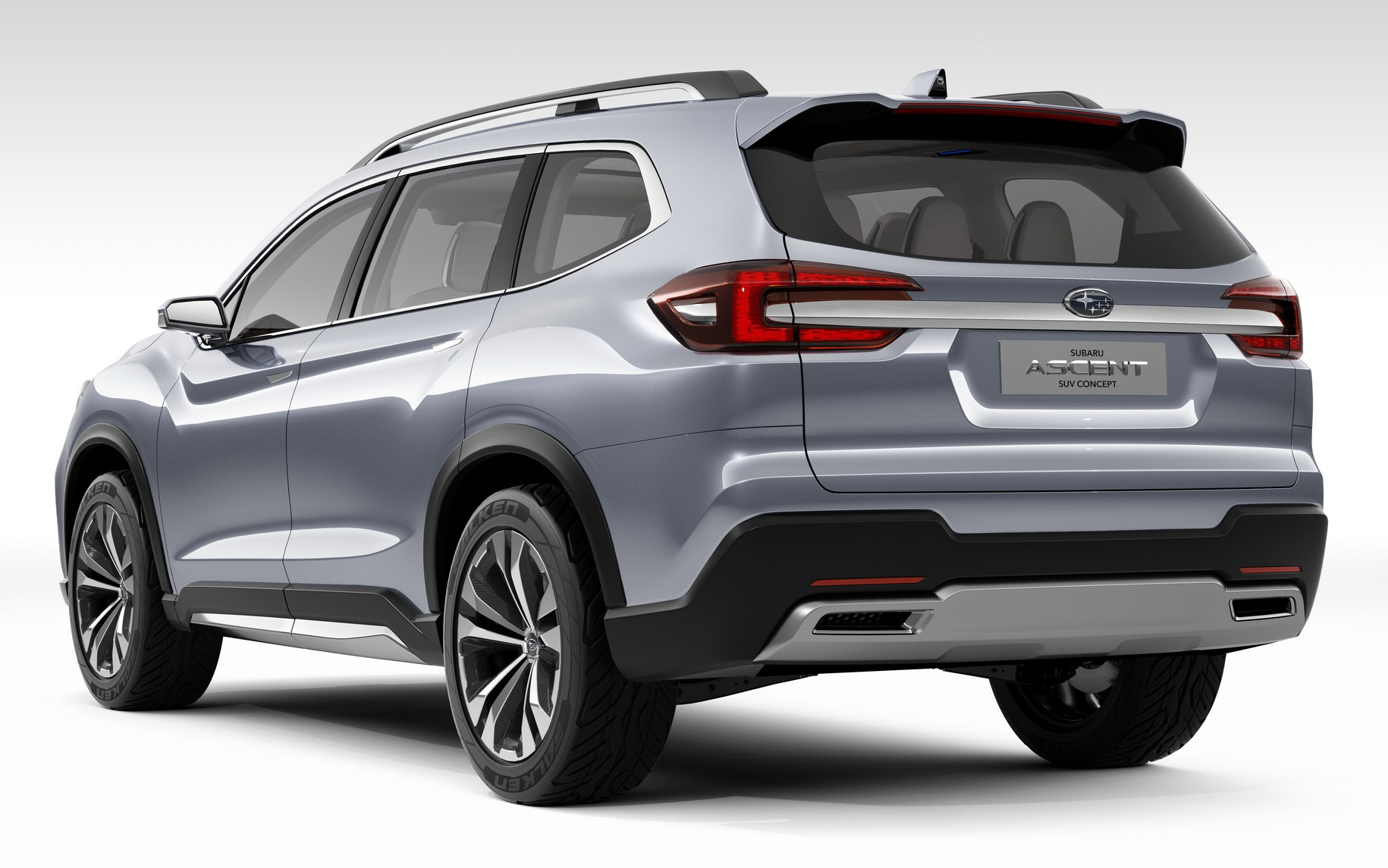 Subaru Suv 2017 >> Subaru Ascent Concept previews new three-row SUV Paul Tan - Image 644590