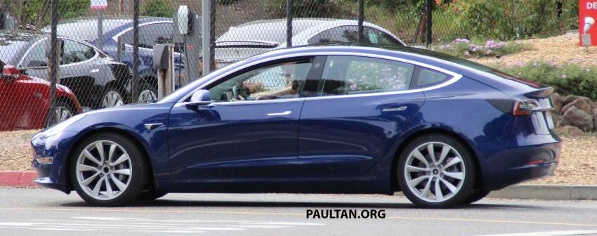 SPYSHOT: Tesla Model 3 dijumpai melakukan ujian Image #641896