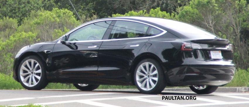 SPYSHOT: Tesla Model 3 dijumpai melakukan ujian Image #641901