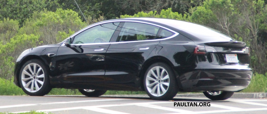 SPIED: Tesla Model 3 spotted testing, interior shown Image #641755