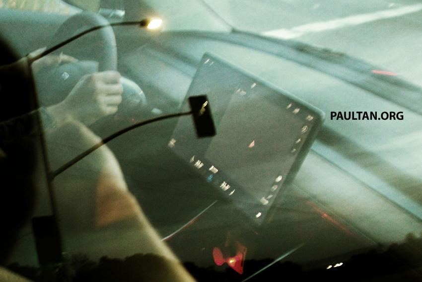 SPIED: Tesla Model 3 spotted testing, interior shown Image #641759