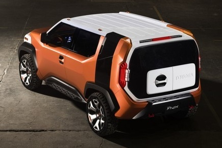Toyota FT-4X concept revealed early before NY debut Image #643696