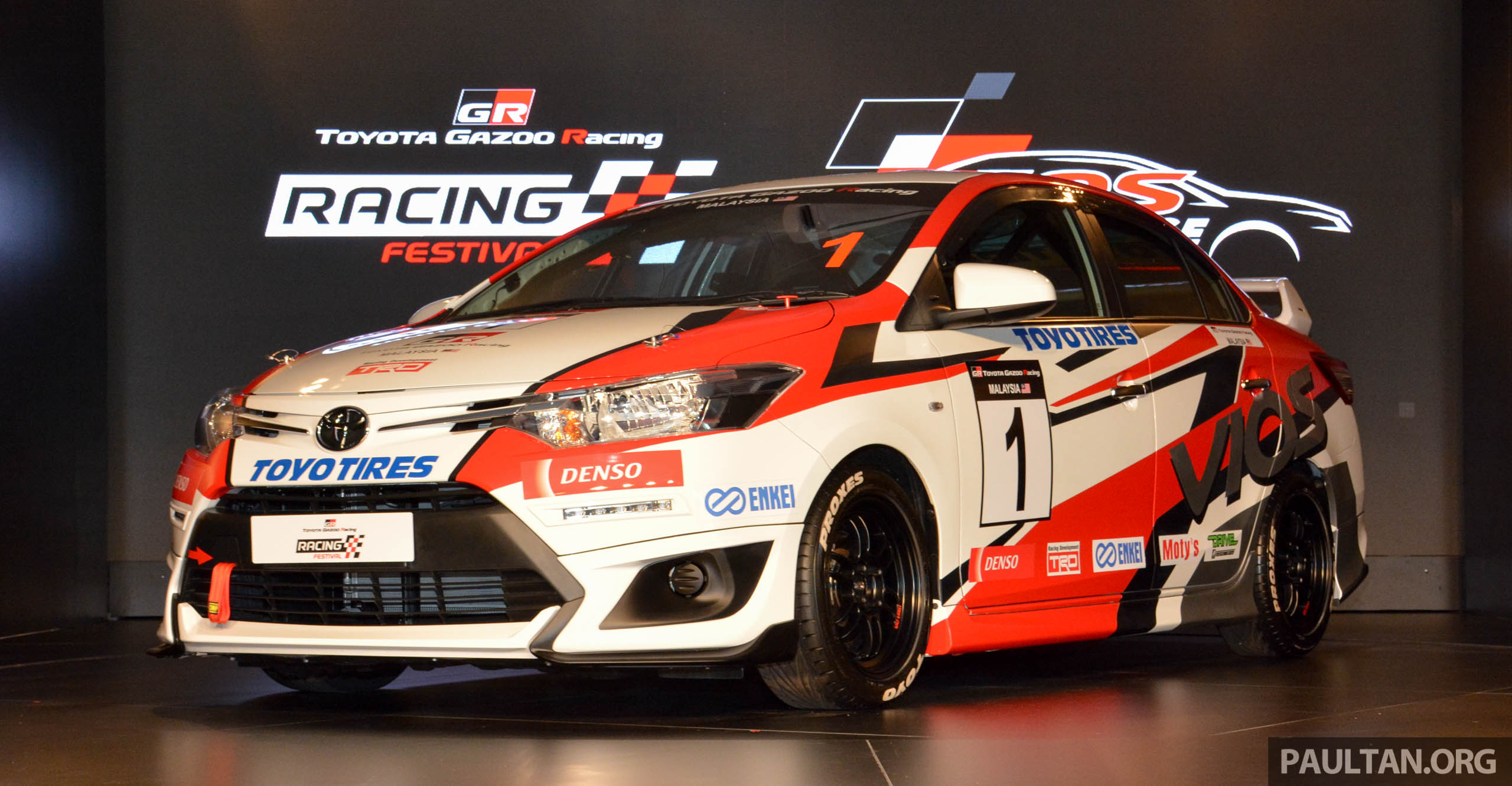 Toyota Vios Challenge launched in Malaysia - one-make race series ...