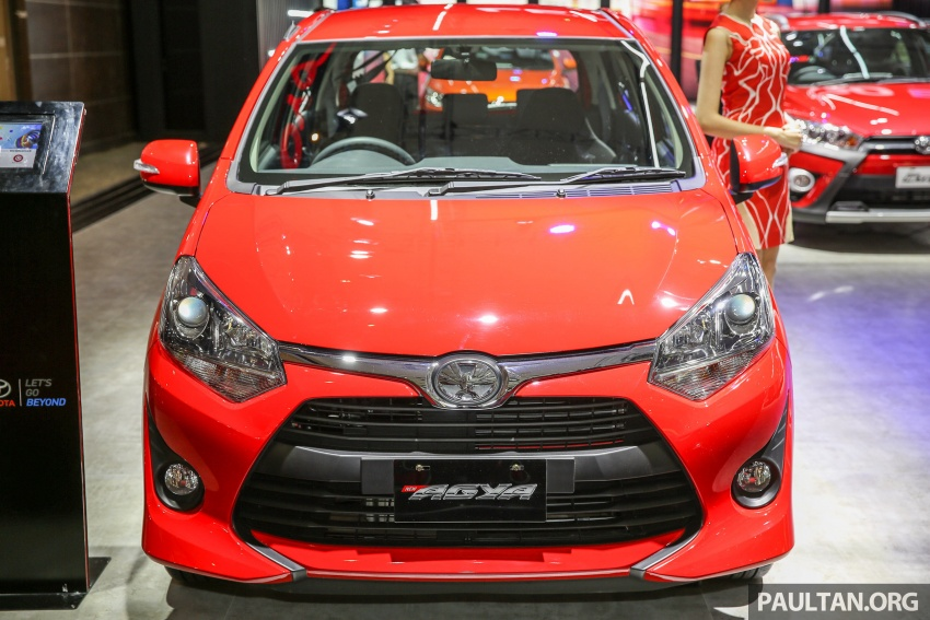 IIMS 2017: Daihatsu Ayla and Toyota Agya LCGC twins Image #651630