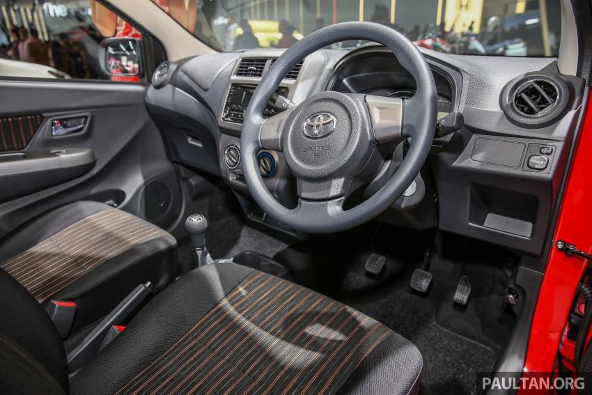 IIMS 2017: Daihatsu Ayla and Toyota Agya LCGC twins Image #651637