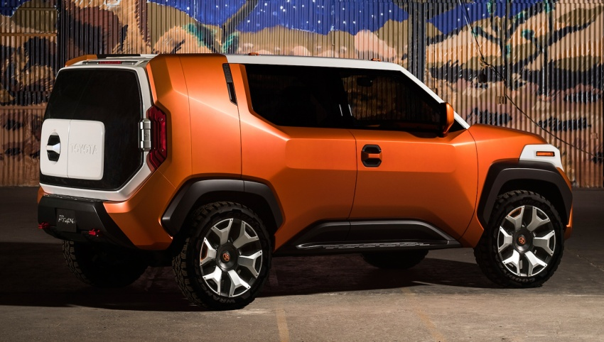 """Toyota FT-4X – """"casualcore"""" crossover for millennials Image #645577"""