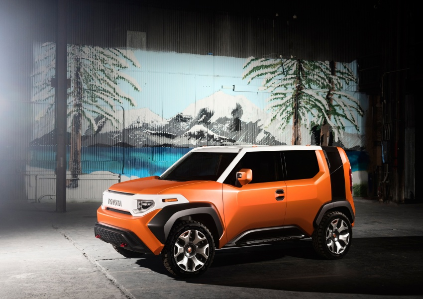 """Toyota FT-4X – """"casualcore"""" crossover for millennials Image #645623"""