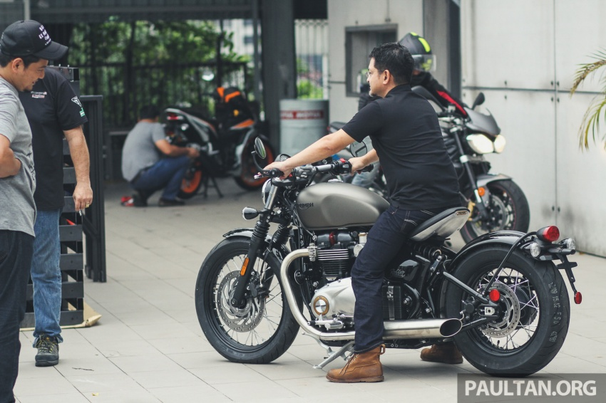 2017 Triumph Street Scrambler and Bobber now in Malaysia – priced at RM65,900 and RM74,900 plus GST Image #639206