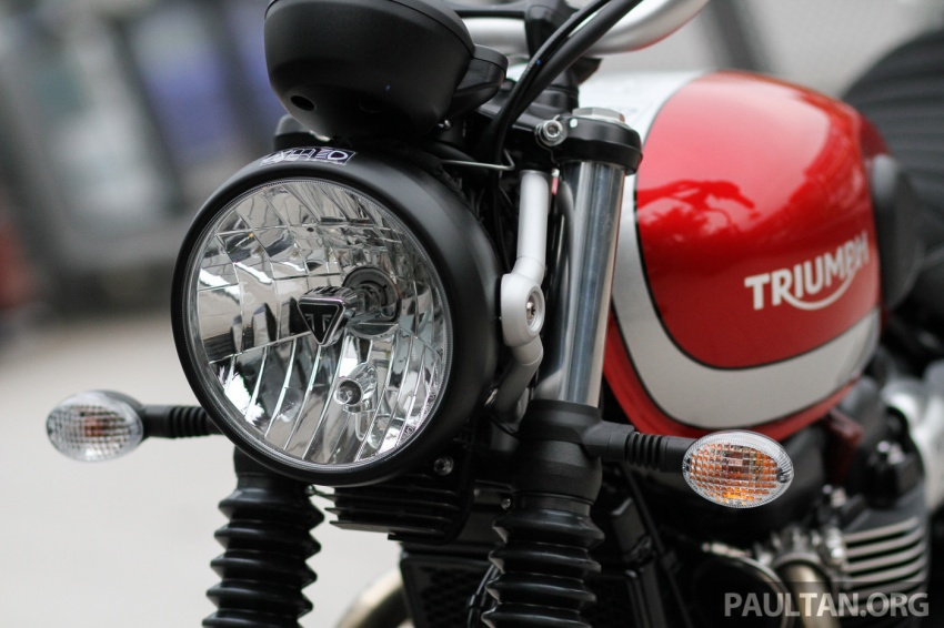 2017 Triumph Street Scrambler and Bobber now in Malaysia – priced at RM65,900 and RM74,900 plus GST Image #639280