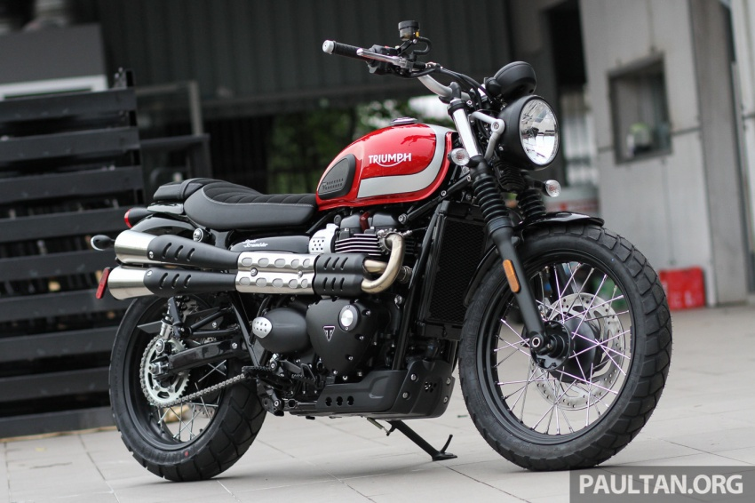 2017 Triumph Street Scrambler and Bobber now in Malaysia – priced at RM65,900 and RM74,900 plus GST Image #639258