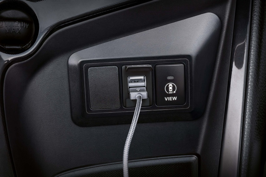 Toyota Vios now with 360-degree camera, USB charger Image #644763