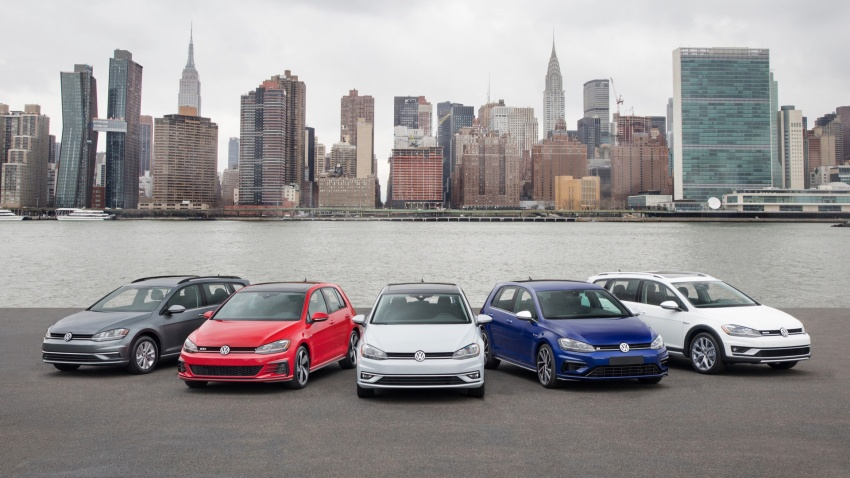 VW bakal pamer barisan Golf 2018 di New York Image #643345