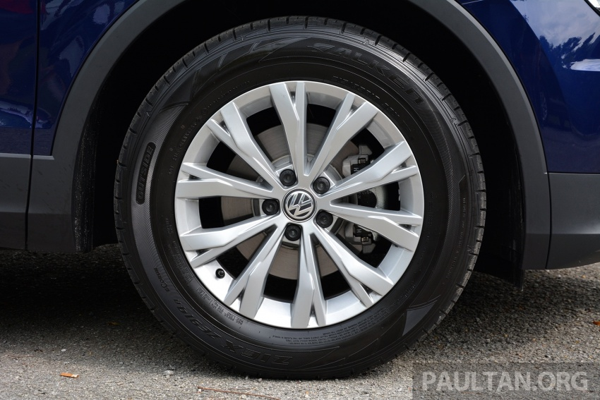 DRIVEN: Volkswagen Tiguan – striking middle ground Image #641483