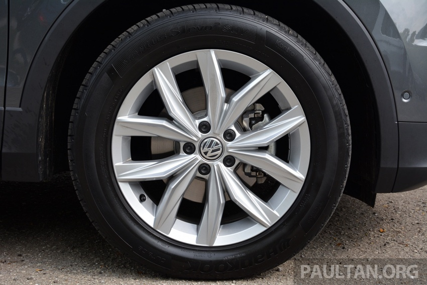 DRIVEN: Volkswagen Tiguan – striking middle ground Image #641484