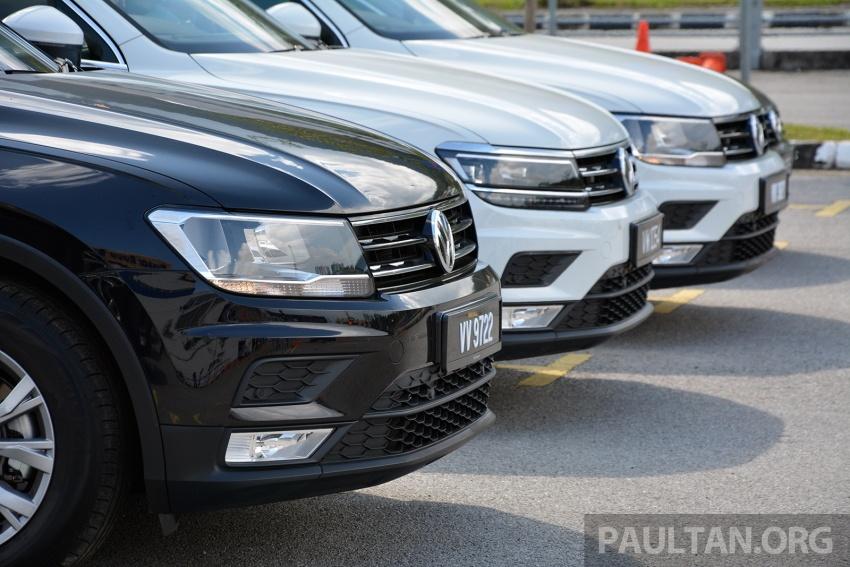 DRIVEN: Volkswagen Tiguan – striking middle ground Image #641485