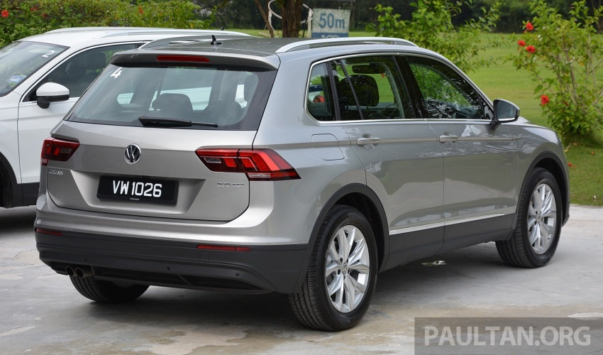 DRIVEN: Volkswagen Tiguan – striking middle ground Image #641486