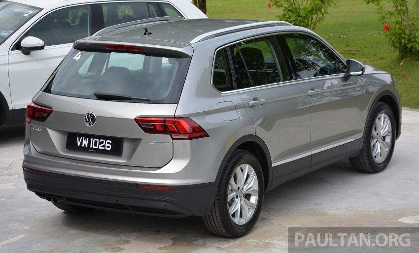 DRIVEN: Volkswagen Tiguan – striking middle ground Image #641487