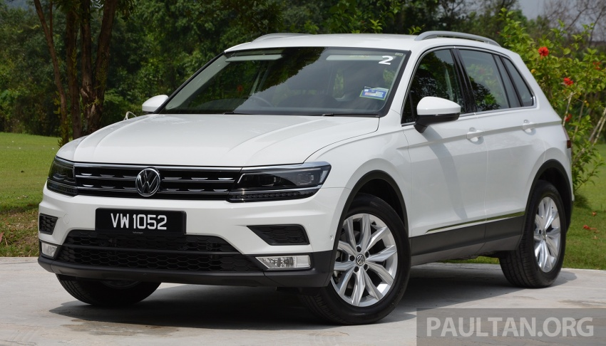 DRIVEN: Volkswagen Tiguan – striking middle ground Image #641489