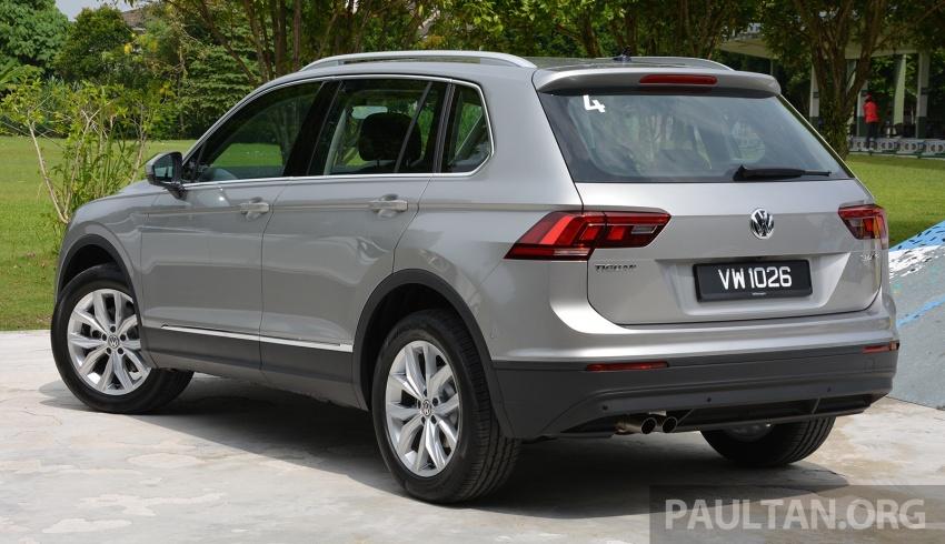 DRIVEN: Volkswagen Tiguan – striking middle ground Image #641490