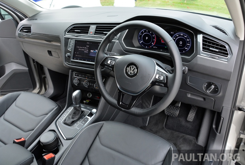 DRIVEN: Volkswagen Tiguan – striking middle ground Image #641491