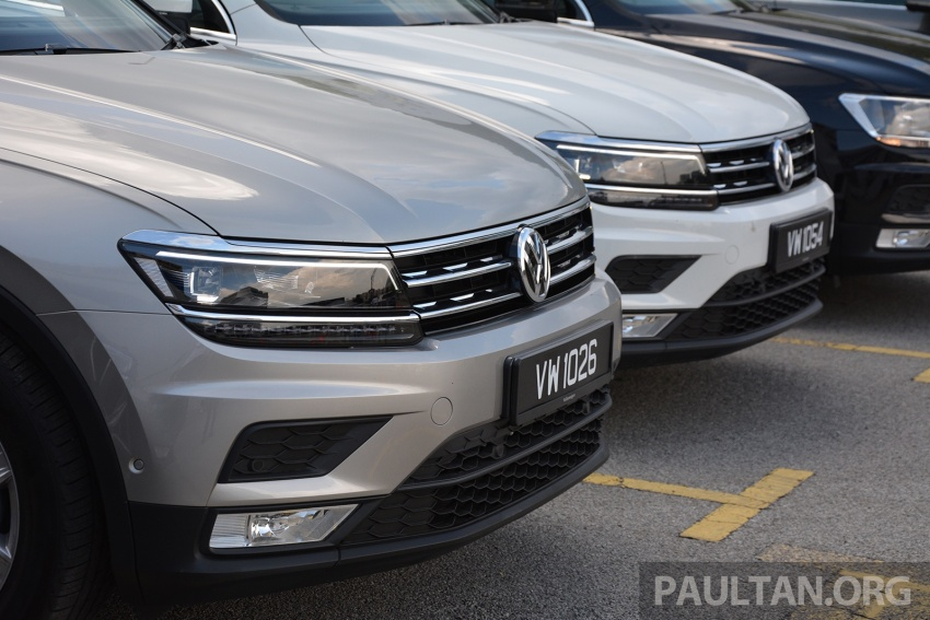 DRIVEN: Volkswagen Tiguan – striking middle ground Image #641475