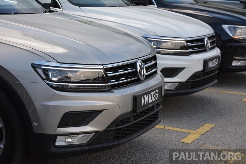 DRIVEN: Volkswagen Tiguan – striking middle ground Image #641475