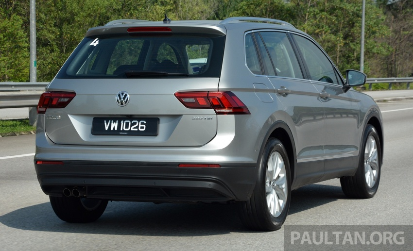 DRIVEN: Volkswagen Tiguan – striking middle ground Image #641476