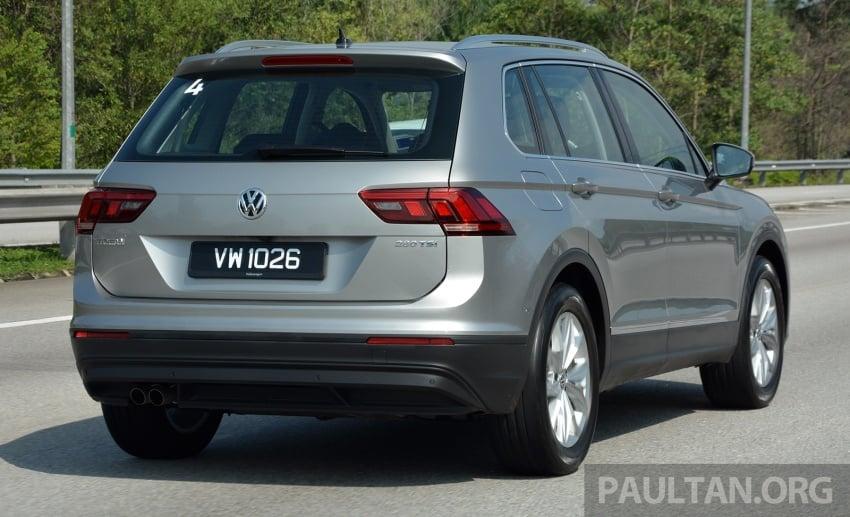 DRIVEN: Volkswagen Tiguan – striking middle ground Image #641476