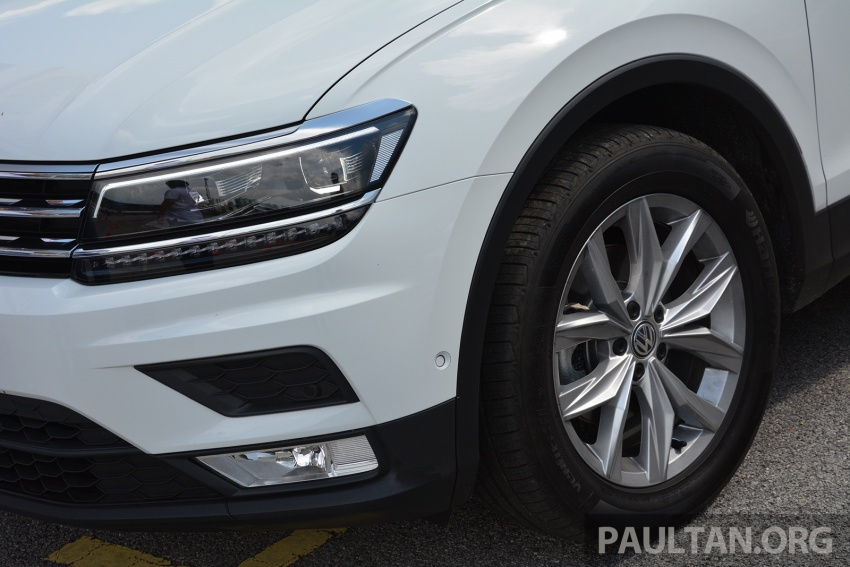 DRIVEN: Volkswagen Tiguan – striking middle ground Image #641480