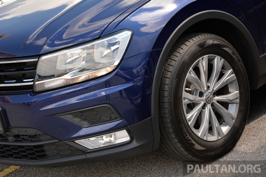 DRIVEN: Volkswagen Tiguan – striking middle ground Image #641481