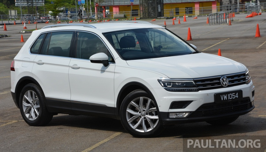 DRIVEN: Volkswagen Tiguan – striking middle ground Image #641482