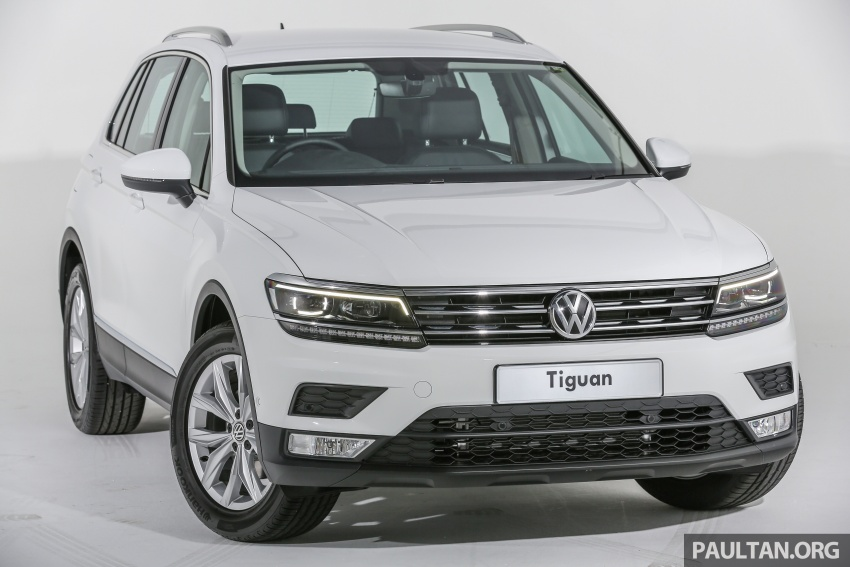 New Volkswagen Tiguan launched in Malaysia – 1.4 TSI Comfortline and Highline, CKD from RM148,990 Image #639634