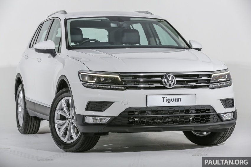 New Volkswagen Tiguan launched in Malaysia – 1.4 TSI Comfortline and Highline, CKD from RM148,990 Image #639635