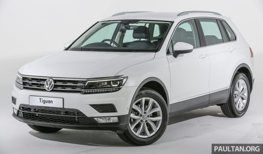 New Volkswagen Tiguan launched in Malaysia – 1.4 TSI Comfortline and Highline, CKD from RM148,990 Image #639636