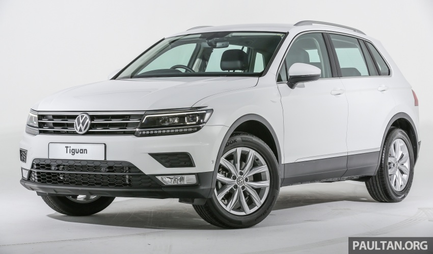 New Volkswagen Tiguan launched in Malaysia – 1.4 TSI Comfortline and Highline, CKD from RM148,990 Image #639637