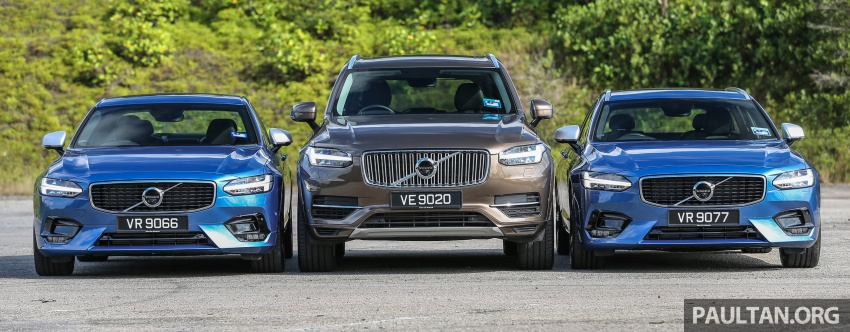 GALLERY: Volvo 90 Series trio – S90, V90 and XC90 Image #640721