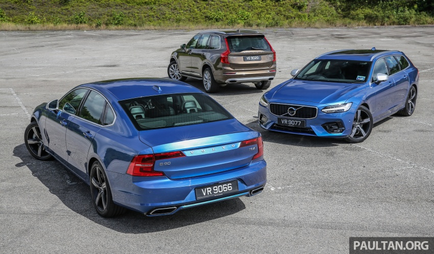 GALLERY: Volvo 90 Series trio – S90, V90 and XC90 Image #640730
