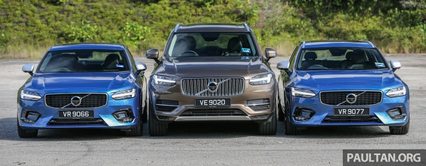 GALLERY: Volvo 90 Series trio – S90, V90 and XC90 Image #640722
