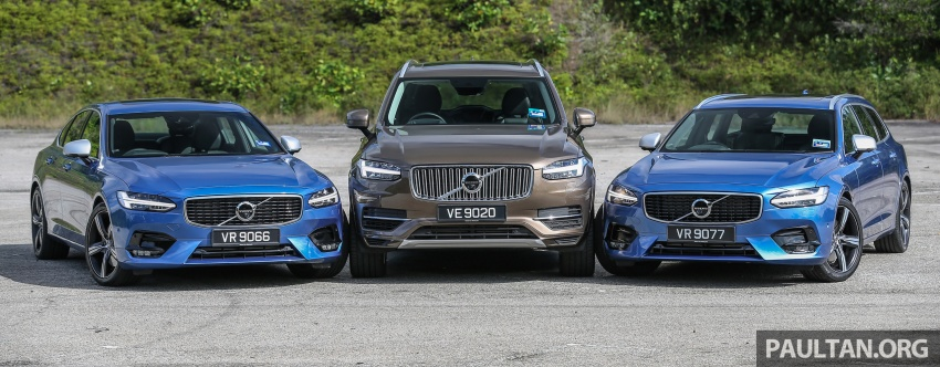 GALLERY: Volvo 90 Series trio – S90, V90 and XC90 Image #640723
