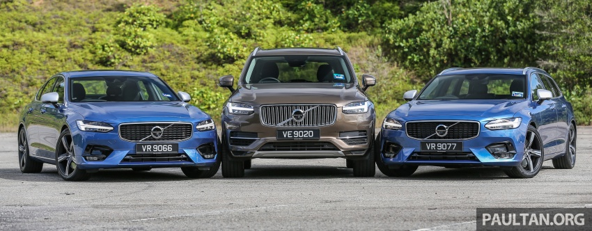 GALLERY: Volvo 90 Series trio – S90, V90 and XC90 Image #640724