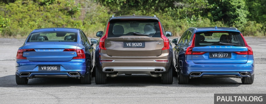 GALLERY: Volvo 90 Series trio – S90, V90 and XC90 Image #640725