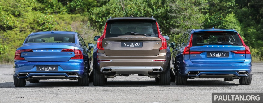 GALLERY: Volvo 90 Series trio – S90, V90 and XC90 Image #640726