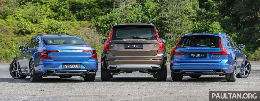 GALLERY: Volvo 90 Series trio – S90, V90 and XC90 Image #640728