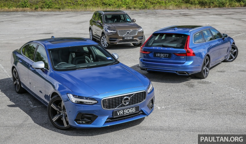 GALLERY: Volvo 90 Series trio – S90, V90 and XC90 Image #640729