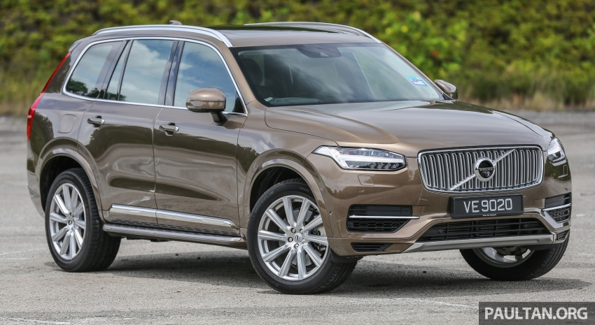 GALLERY: Volvo 90 Series trio – S90, V90 and XC90 Image #641009
