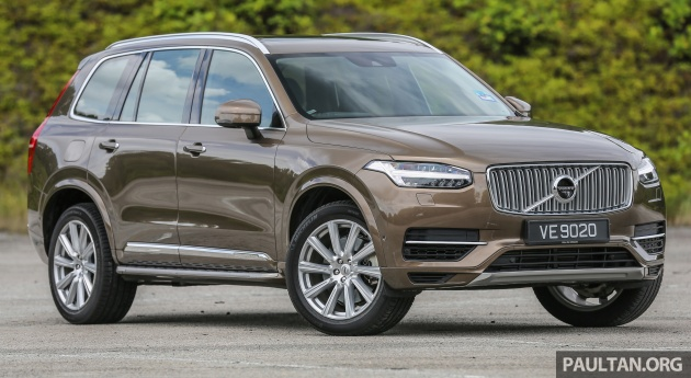 Volvo Xc90 T8 Phev Now Er In Thailand Due To Malaysian Embly But Still Rm224k Costlier Than My